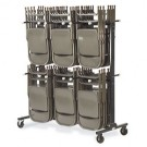 Chair truck cart, deluxe, stack chairs